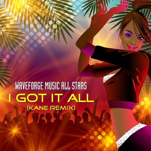 I Got It All (Kane Remix) by Waveforge Music All Stars