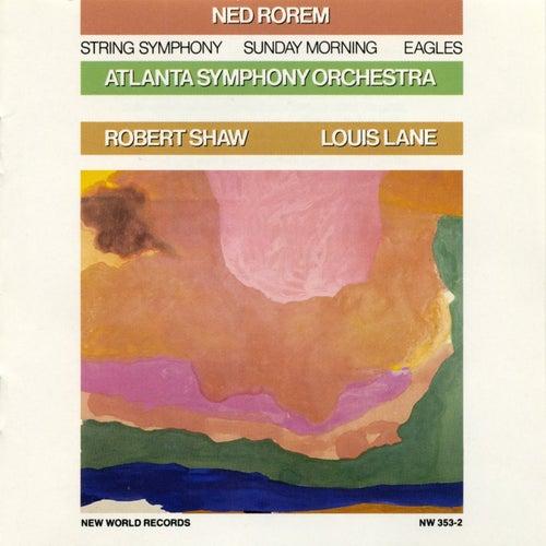 Ned Rorem: Orchestral Works von Atlanta Symphony Orchestra