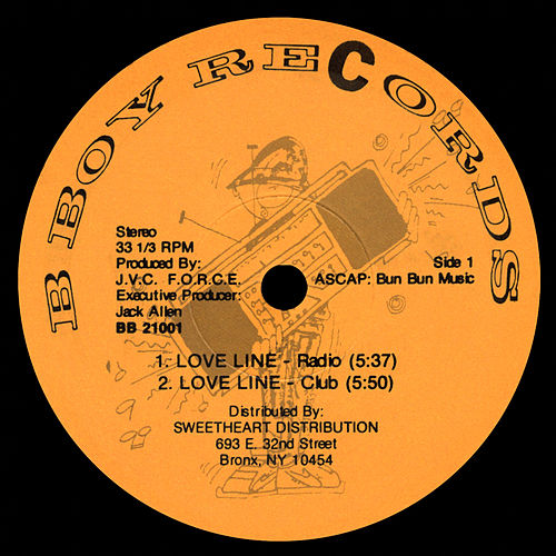 Love Line / Stylin Lyrics by JVC Force
