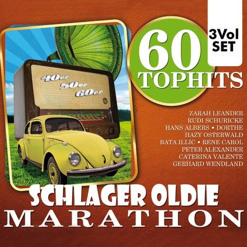 60 Top Hits Schlager Oldie Marathon de Various Artists
