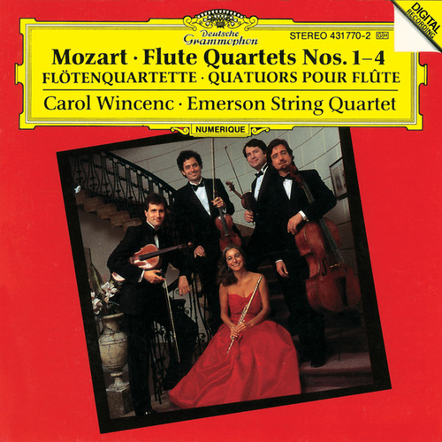 Mozart: Flute Quartets No.1-4 by Emerson String Quartet