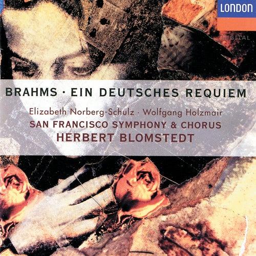 Brahms: Ein deutsches Requiem de Various Artists