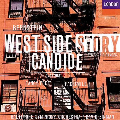 Bernstein: West Side Story Symphonic Dances; Facsimile; Fancy Free; Candide Overture von Baltimore Symphony Orchestra