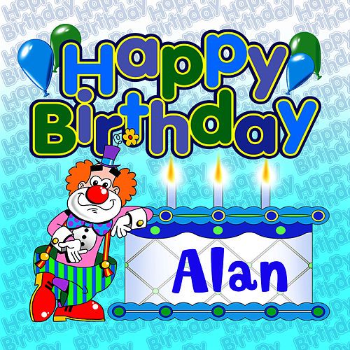 Happy Birthday Alan von The Birthday Bunch