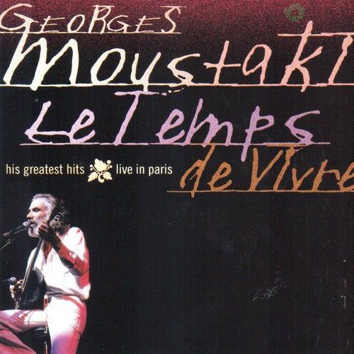 Le temps de vivre (Greatest Hits Live In Paris) de Georges Moustaki