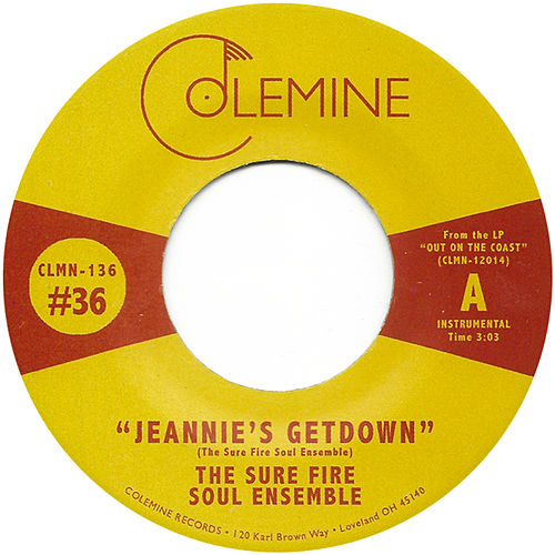 Jeannie's Getdown by The Sure Fire Soul Ensemble