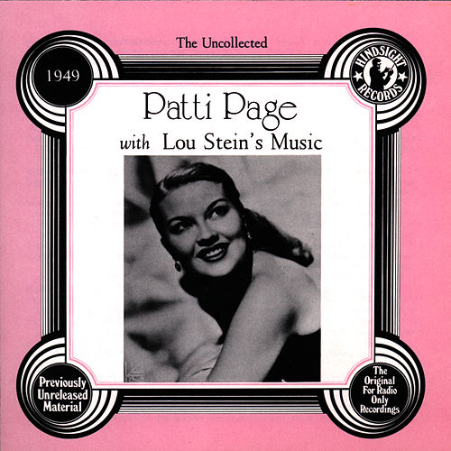 Patti Page with Lou Stein's Music, 1949 by Patti Page