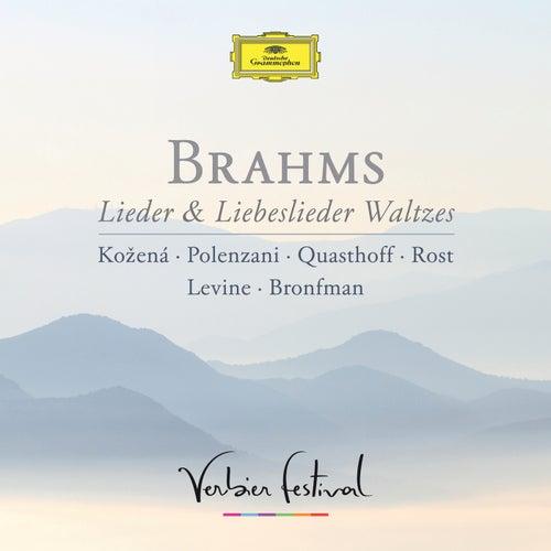 Brahms: Lieder & Liebeslieder Waltzes de Magdalena Kožená