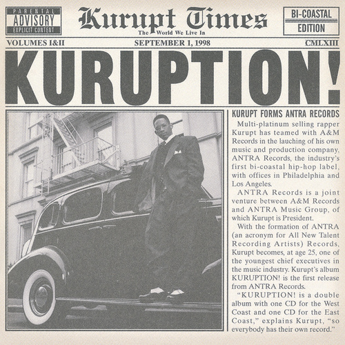 Kuruption! by Kurupt