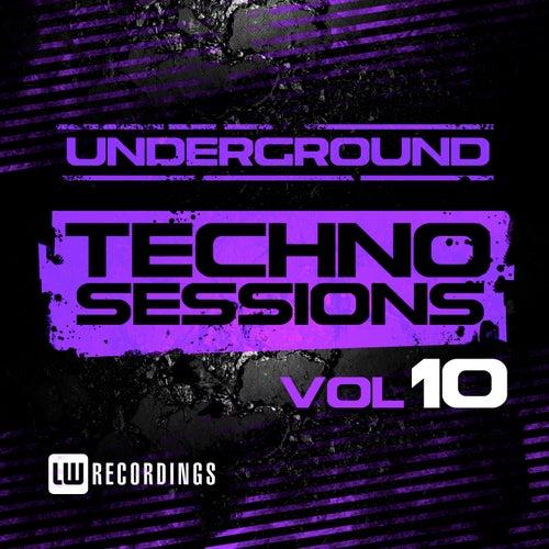 Underground Techno Sessions, Vol. 10 - EP von Various Artists