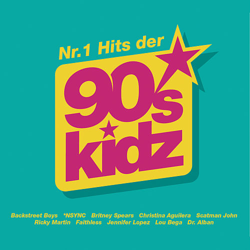 Nr.1 Hits der 90s Kidz (+ Bonus) von Various Artists