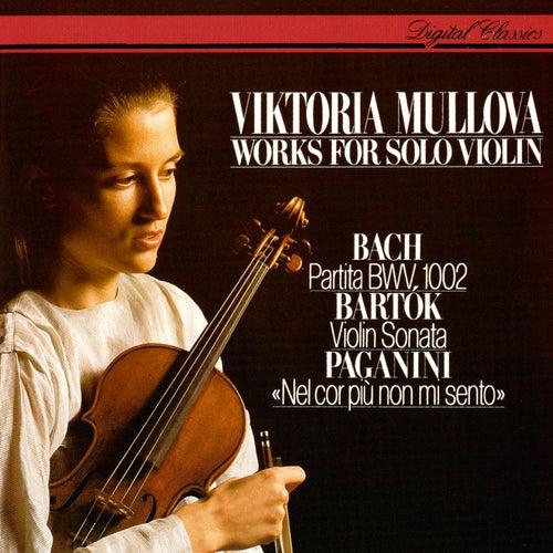 Works For Solo Violin: J.S. Bach: Partita No. 1 / Bartók: Sonata For Solo Violin / Paganini: Introduction & Variations by Viktoria Mullova