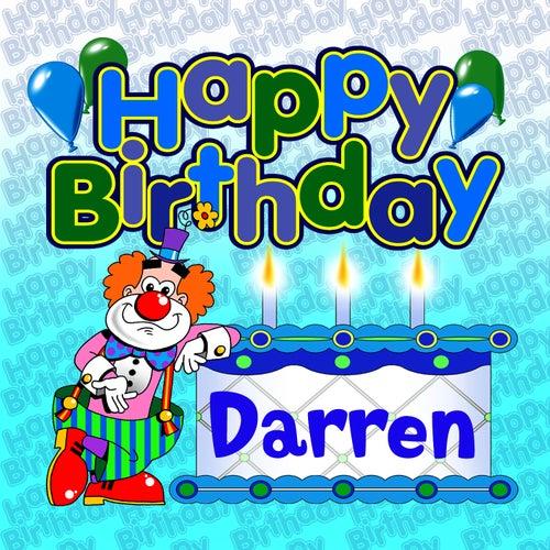 Happy Birthday Darren von The Birthday Bunch