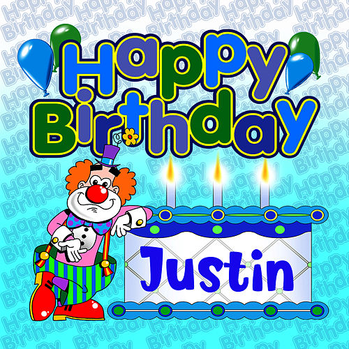 Happy Birthday Justin von The Birthday Bunch