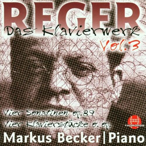Max Reger: Das Klavierwerk Vol. 3 von Markus Becker