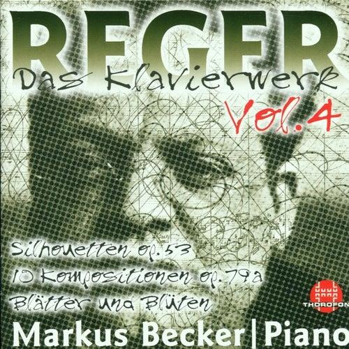 Max Reger: Das Klavierwerk Vol. 4 von Markus Becker