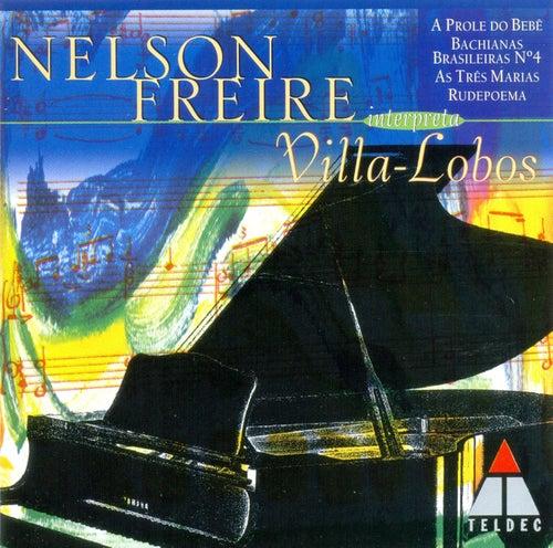 Villa-Lobos : Prole do Bebê, Rudepoema, As três Marias di Nelson Freire