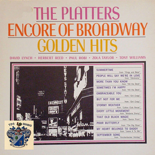 Encore of Broadway Golden Hits de Dinah Washington
