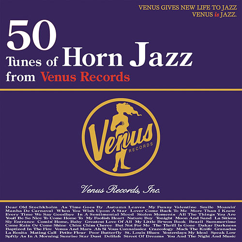 50 Tunes of Horn Jazz from Venus Records de Various Artists