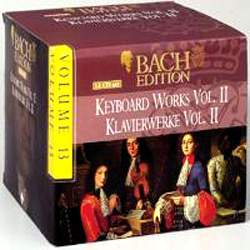 Bach Edition Vol. 13, Keyboard Works Vol. II  Part: 4 by Arts Music Recording Rotterdam