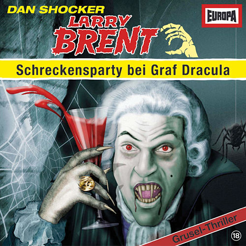 18/Schreckensparty bei Graf Dracula by Larry Brent