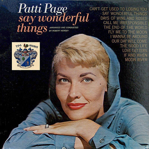 Say Wonderful Things de Patti Page