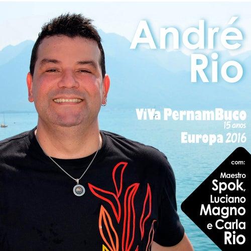 Viva Pernambuco 15 Anos Europa 2016 de André Rio