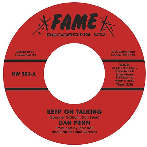 Keep On Talking / Uptight Good Woman de Dan Penn