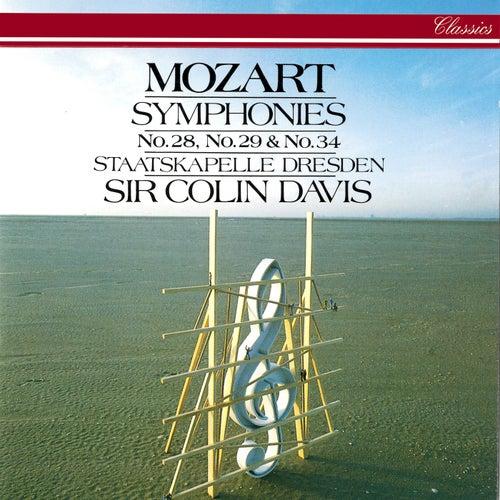 Mozart: Symphonies Nos. 28, 29 & 34 by Sir Colin Davis