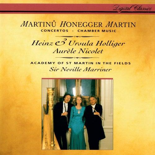Honegger: Concerto da camera / Martinů: Oboe Concerto / Martin: Trois danses; Petite complainte; Pièce brève de Heinz Holliger