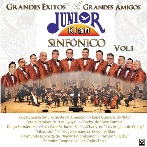 Grandes Éxitos Grandes Amigos Sinfónico, Vol. 1 de Junior Klan