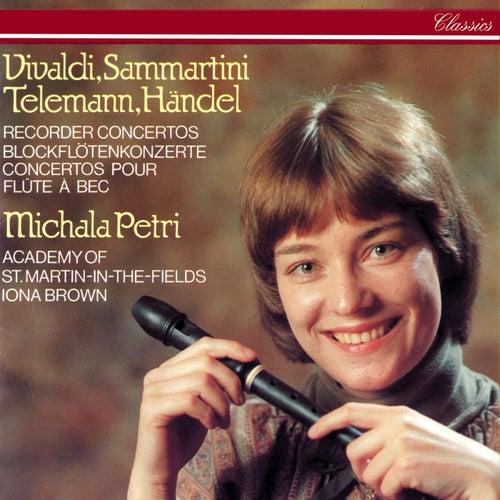 Recorder Concertos By Vivaldi, Sammartini, Telemann & Handel de Iona Brown