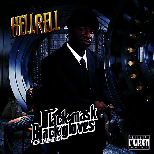 Black Mask Black Gloves de Hell Rell