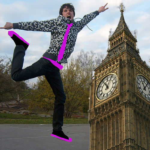 Kick the Big Ben de le Shuuk