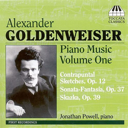 Goldenweiser: Piano Music Volume One by Jonathan Powell