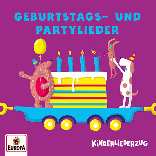 Kinderliederzug - Geburtstagsparty by Lena, Felix & die Kita-Kids