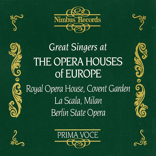 Great Singers at the Opera Houses of Europe de Various Artists