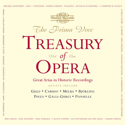 The Prima Voce Treasury of Opera, Vol. 1 de Various Artists