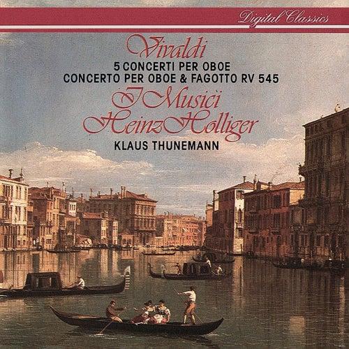 Vivaldi: 6 Concertos for Oboe & Strings de Heinz Holliger