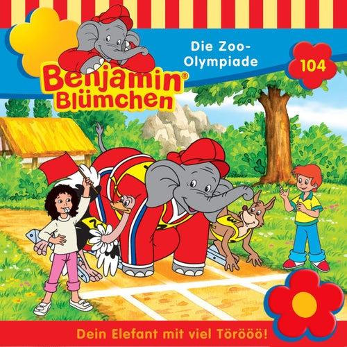 Folge 104: Die Zoo-Olympiade von Benjamin Blümchen