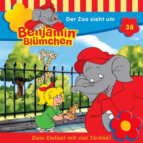 Folge 38: Der Zoo zieht um von Benjamin Blümchen