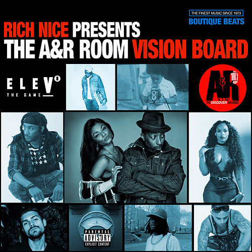 Rich Nice Presents: The A&R Room Vision Board de Various Artists