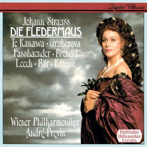 Johann Strauss II: Die Fledermaus (Highlights) by André Previn