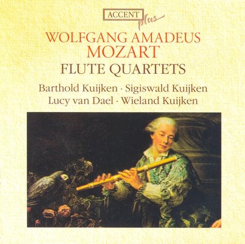 Mozart, W.A.: Flute Quartets Nos. 1-4 von Barthold Kuijken