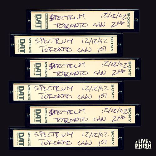PHISH: 12/12/92 The Spectrum, Toronto, ON (Live) de Phish