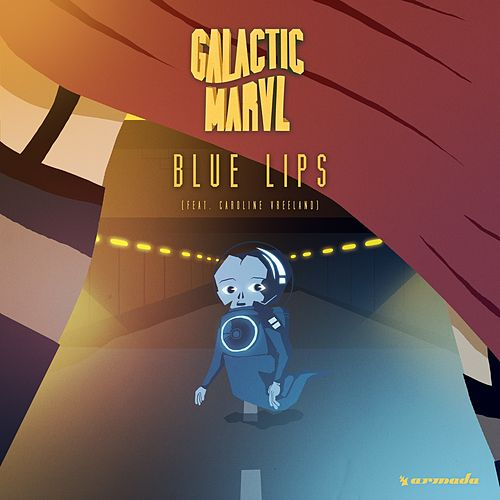 Blue Lips by Galactic Marvl