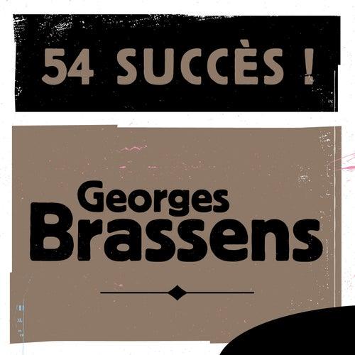 54 Succès de Georges Brassens
