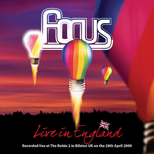 Live in England de Focus