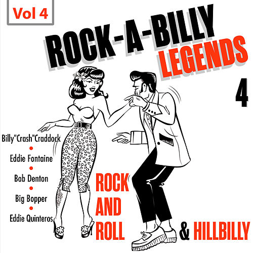 Rock a Billy Legends 4, Vol. 4 by Various Artists