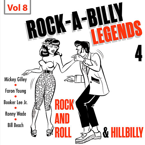 Rock a Billy Legends 4, Vol. 8 by Various Artists